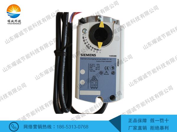 GDB131.1E西门子电动执行器